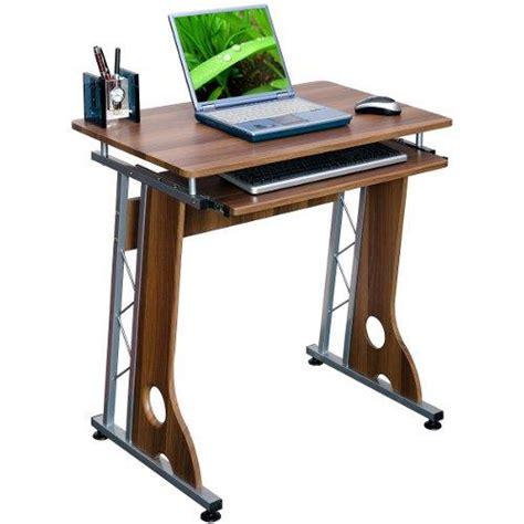 scrivania per pc portatile scrivania di design per pc modello smart in color noce