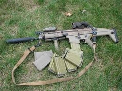 scar 17 chambered 308 with a suppressor youtube