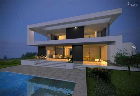 haus bauen architekt haus am hang bauen in moderne architektur