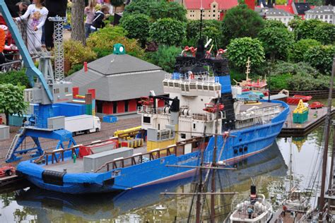 toy boat launched in scotland day tour to legoland from copenhagen at the famous lego