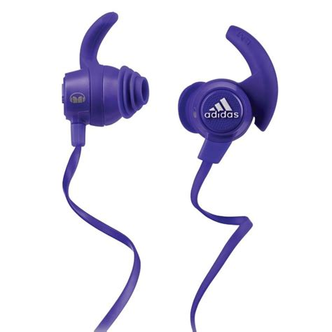 Headset Adidas A 92 adidas response earphones purple from powerhouse je uk