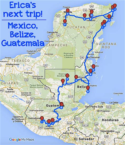 map of mexico and belize my next trip mexico belize guatemala as world turns