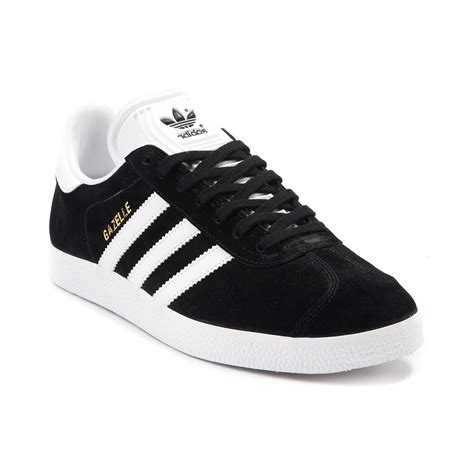 adidas gazelle black womens adidas gazelle athletic shoe black 436249