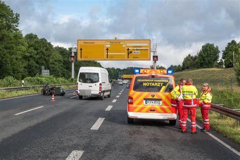 Motorrad Gespann Unfall by T 246 Dlicher Unfall Auf Dem Messeschnellweg Haz