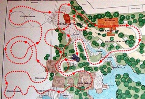 unbuilt disney: indiana jones and the lost expedition