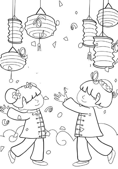 new year lantern colouring printable new year coloring pages coloring me