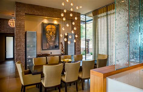 Modern Lighting Fixtures For Dining Room by Beautiful Bocci Lighting Fixture Enlivens The Modern Dining Room Decoist