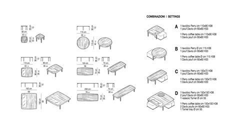 Designer Desks Perry Coffee Table By Minotti Ecc