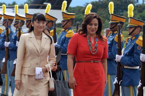 Hn Original 12 princess mako in honduras for year of friendship diplomatic visit the japan times