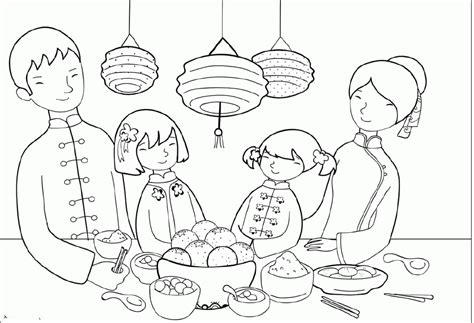 chinese new year coloring pages coloring home