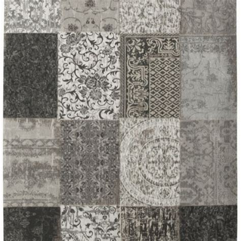 Tapis Patchwork by Tapis Patchwork Black And White Decorasol