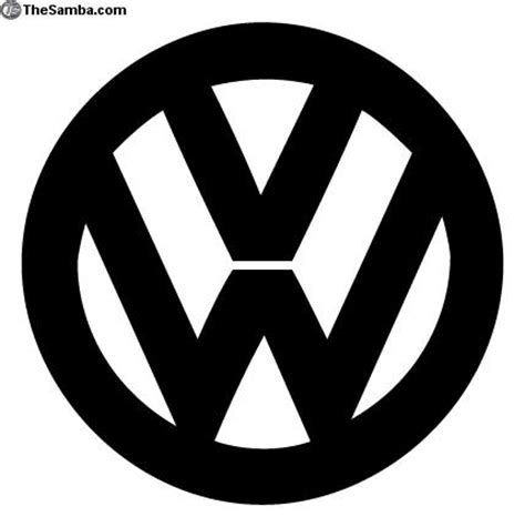 volkswagen logo black volkswagen logo black and white
