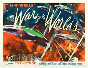1953 the war of the worlds poster