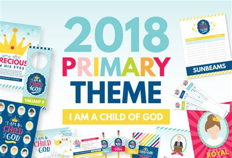 i am a child of god 2018 books 2018 lds primary theme quot i am a child of god quot lesson