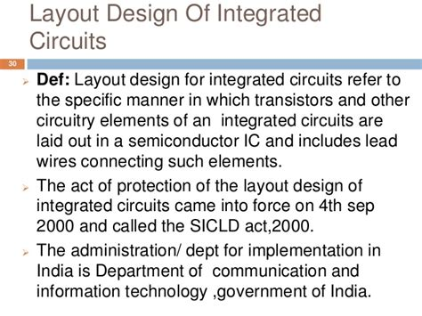 semiconductor integrated circuits layout design act 2000 intellectual property rights cp