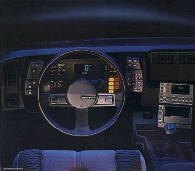 1982 1986 chevorlet camaro berlinetta: the luxurious