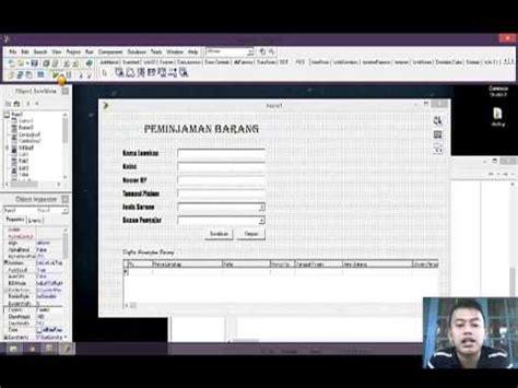 tutorial game delphi tutorial program delphi membuat program peminjaman ba