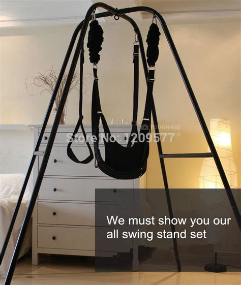 fantasy swing stand fantasy sex swing stand and wrist restraints cl belt