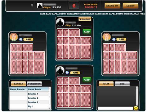 Kartu Domino Bergambar cara capsa susun daftar domino