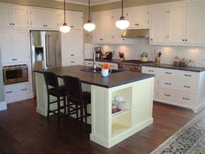 pictures of kitchens with islands diy kitchen islands ideas using common household furniture