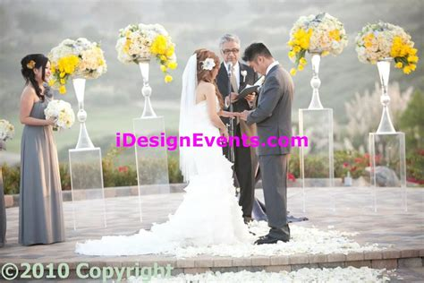 Wedding Arch Rental Bay Area by Bay Area Comun Decor Ceremony Arch Rentals Wedding Decor