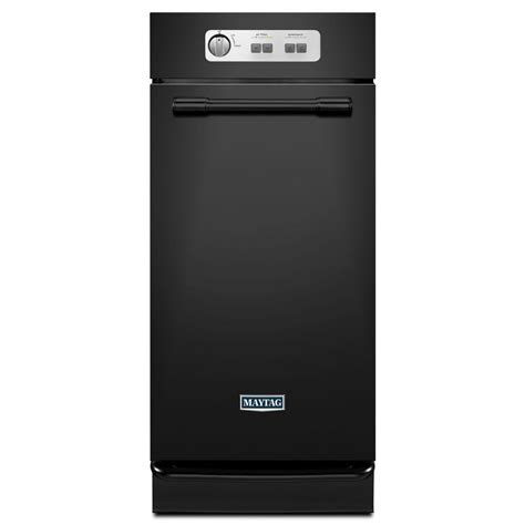 mtuc7500afb maytag 15 quot built in trash compactor black on maytag 15 in built in trash compactor in black