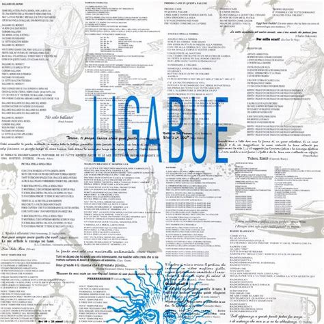 una vita da mediano testo copertina cd ligabue ligabue cover cd ligabue ligabue