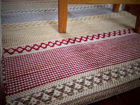 rug weaving patterns rag rug warped for