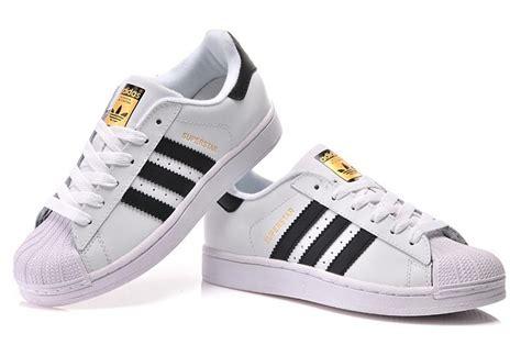 Sepatu Adidas Superstar Black White Unisex 37 44 παπούτσια adidas superstar white black shoesmart