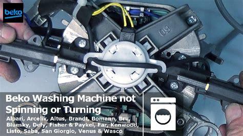 how to replace beko washing machine motor carbon brushes