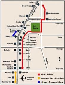 Las Vegas Tram Map by The Best Kept Secret In Vegas The Las Vegas Monorail