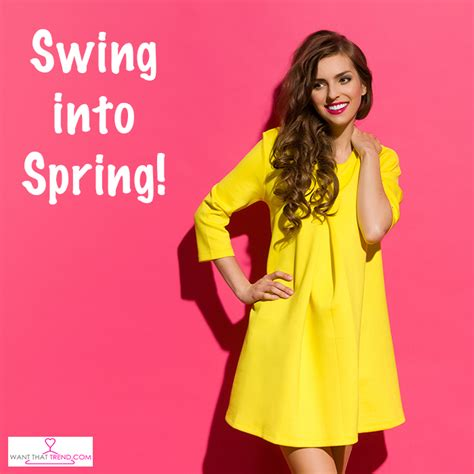 swing into spring want that trend