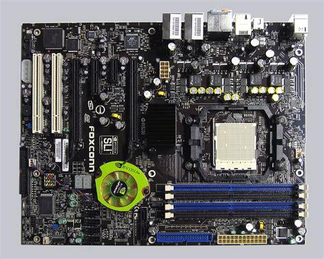 Sockel Am2 Mainboard by Foxconn C51xem2aa 8ekrs2h Nforce 590 Sli Amd Sockel Am2 Mainboard Test