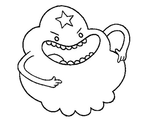 Lumpy Space Princess Coloring Pages Download Print Lumpy Space Princess Coloring Pages Printable