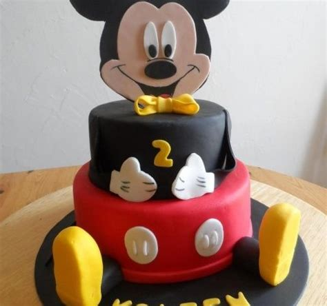 Decoration Gateau Anniversaire Mickey by G 226 Teau Mickey Theme Mickey G 226 Teaux 224 Th 232 Me