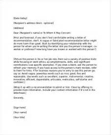 Business Reference Letter Template Free 14 Professional Reference Letter Template Free Sle