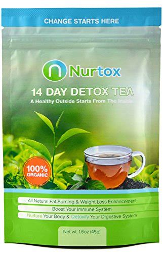 Right Detox Tea by Nurtox The Best Detox Tea On Organic 100