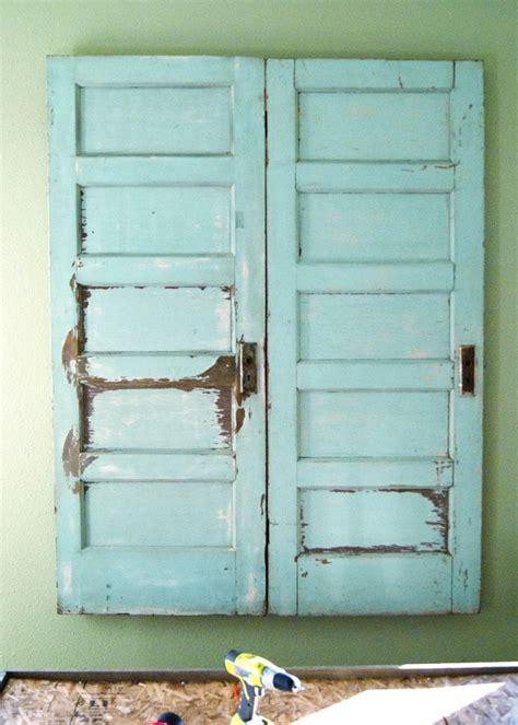 recycled door headboard diy platform bed salvaged door headboard part two