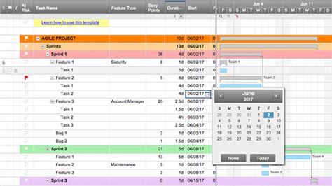 smartsheet gantt chart template smartsheet