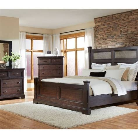 Crystal Ridge Panel King Bedroom Group Emerald Star Bedroom Furniture Houston Tx