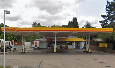 two attacked with baseball bat at telford petrol station