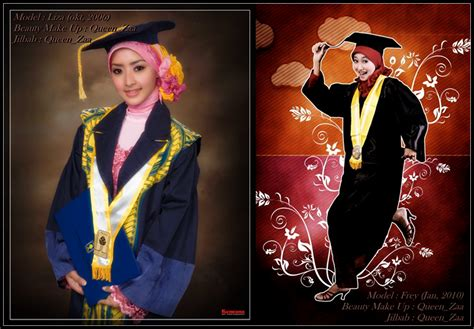 tutorial make up dan sanggul wisuda queen zaa beauty make up make up wisuda