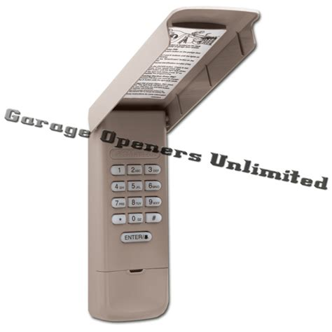 Access Master Garage Door Opener Manual 1 3 Hp Liftmaster 877max Wireless Keypad