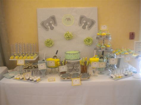 Grey And Yellow Baby Shower by 31 Baby Shower Decorating Ideas With Gray Yellow Theme