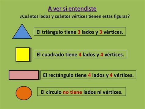 figuras geometricas lados vertices y angulos figuras geom 233 tricas y pol 237 gonos