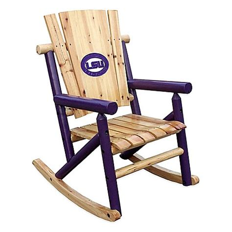 Lsu Chair by Buy Lsu Rocking Chair From Bed Bath Beyond