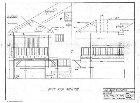 roof deck plan foundation deck with roof plans deck design and ideas
