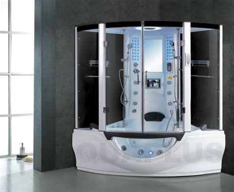 jacuzzi bathtub with shower steam cabin jacuzzi whirlpool spa corner bath shower tv