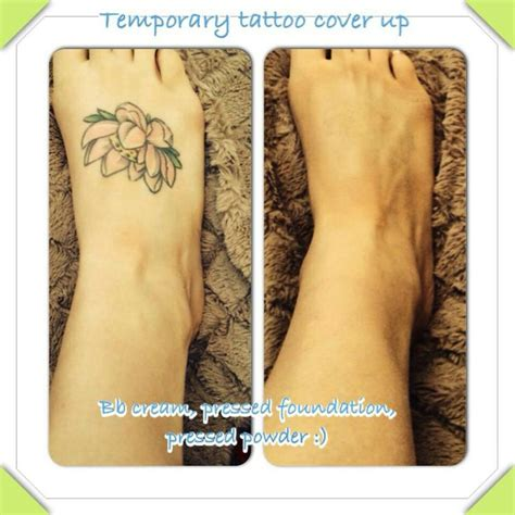 tattoo cover up cream temporary coverage using younique s products bb