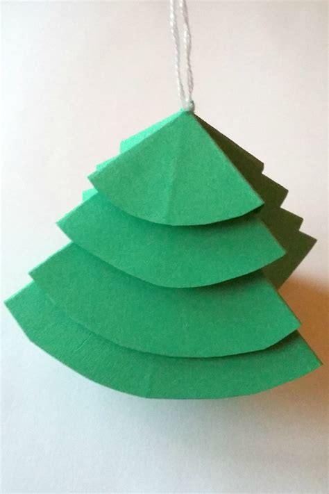 how to make folded paper decorations birch and